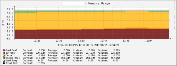 New template Host Memory Usage